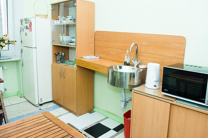 Де Ришелье - мини-кухня